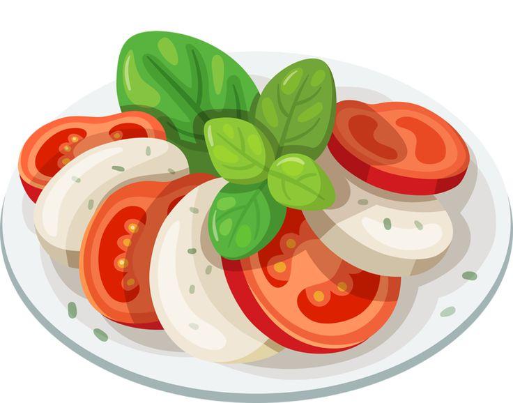 Mozzarella clipart tomato Frukt Find ~ Pin more