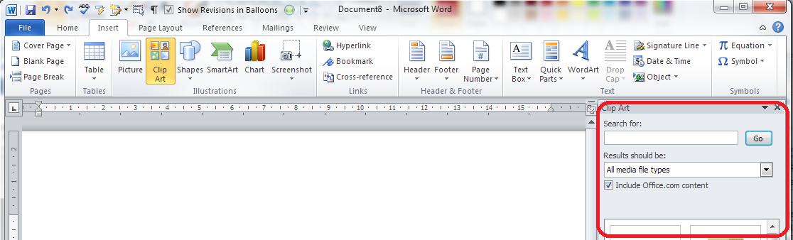 Software clipart word art Clip insert I word 2013