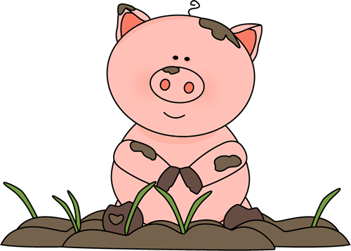 Pen clipart pig Mud Art Pig the in