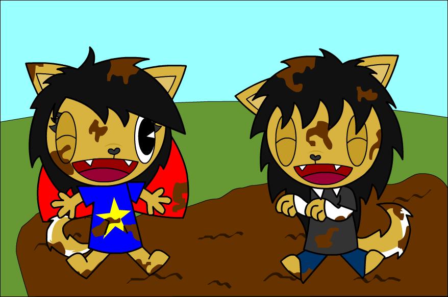 Mud clipart animated #10