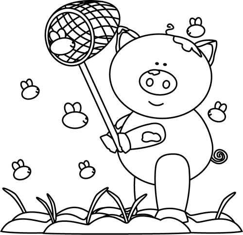 Mud clipart black and white #6