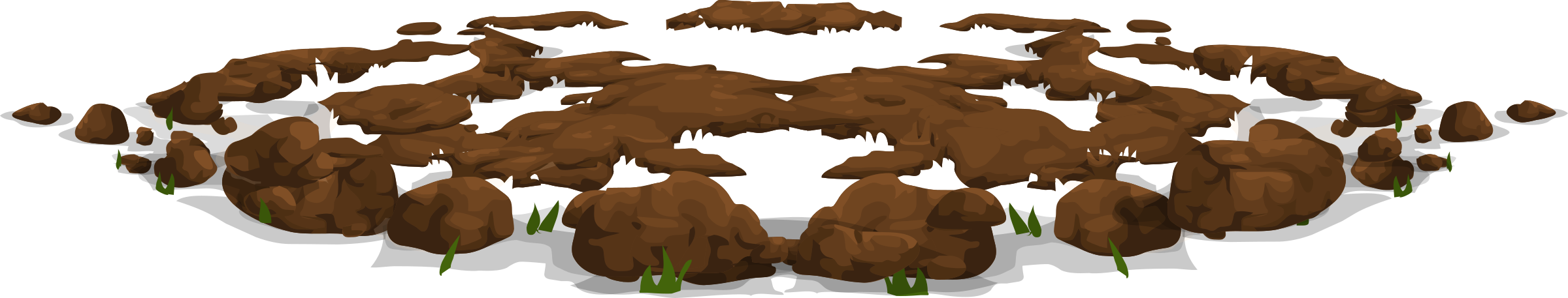 Mud clipart dirt pile #9