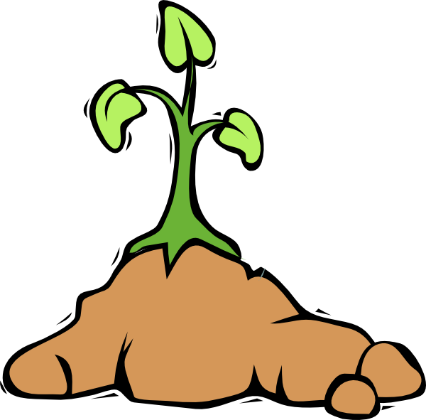 Mud clipart dirt pile #7