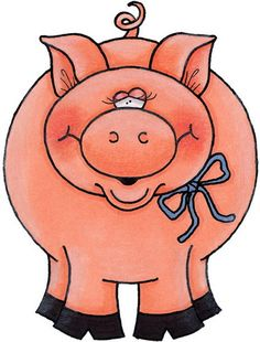 Pork clipart farm pig Pink Art Image Art the