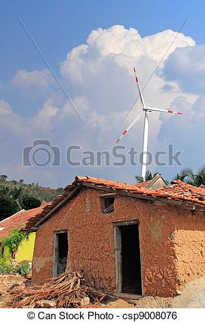 Old House clipart mud house Mill Image india in