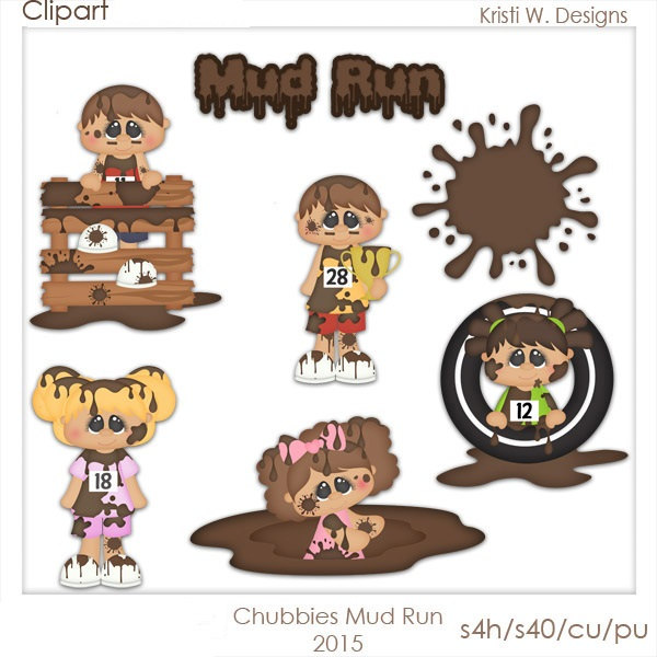 Mud clipart mud run #14