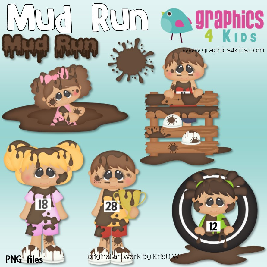 Run Clipart scrapbooking for for