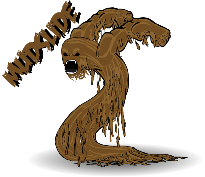 Mud clipart mudslide HeroMachine to by few don't
