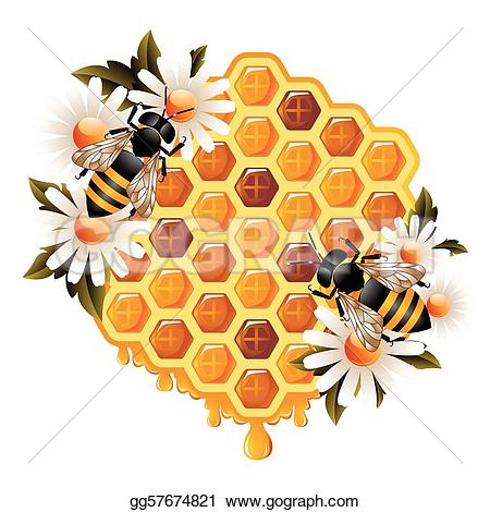 Clip GoGraph Floral Honey Art