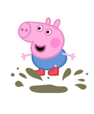 Mud clipart peppa pig #13