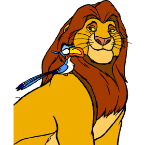 Zebra clipart lion king Lion Clip King The King