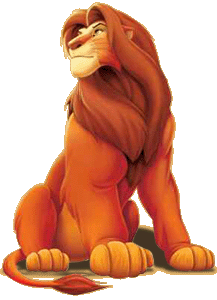 Mufasa clipart kingdom hearts Personajes by Disney png 1
