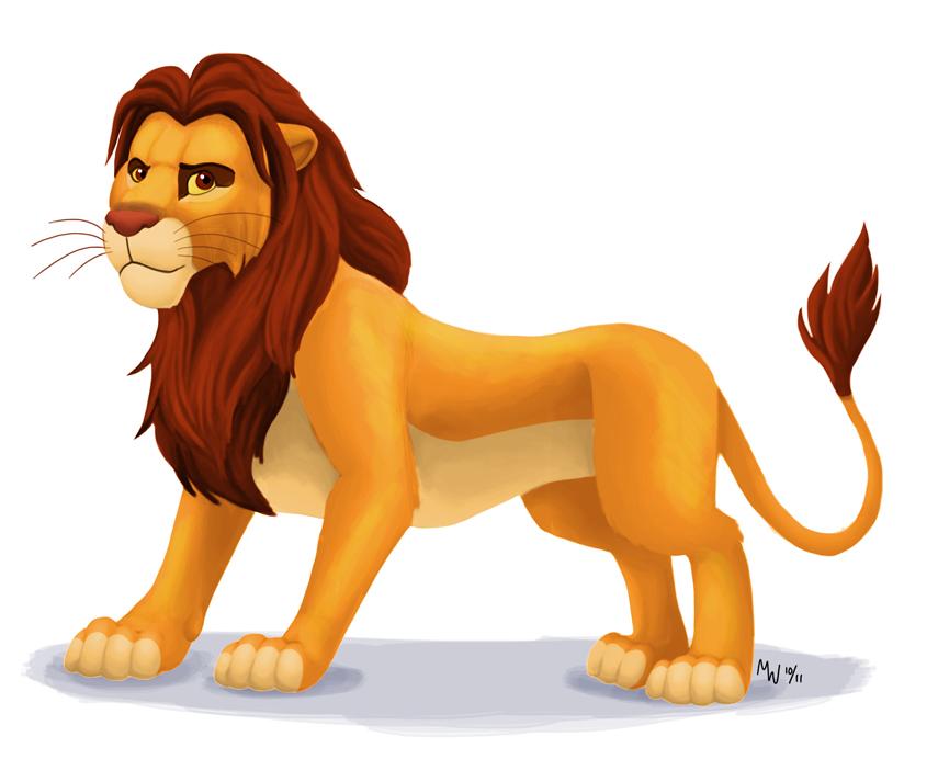 Mufasa clipart kingdom hearts All LynxGriffin by Simba DeviantArt