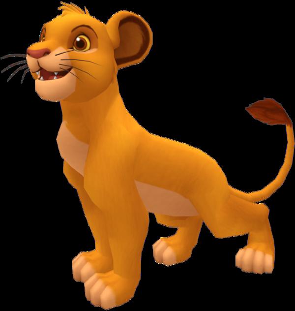 Mufasa clipart kingdom hearts Soxxeh DeviantArt Simba II II
