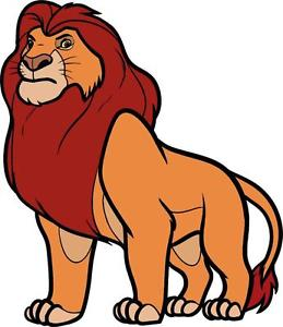 The Lion King clipart mufasa King Lion Image Removable WALL