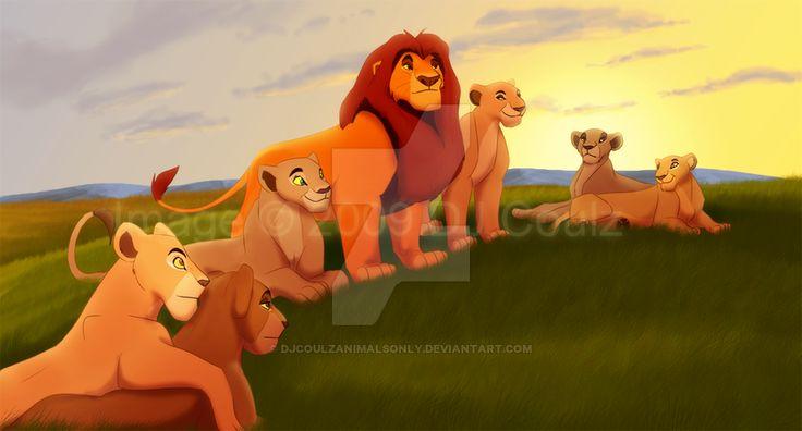 Mufasa clipart lion pride #9