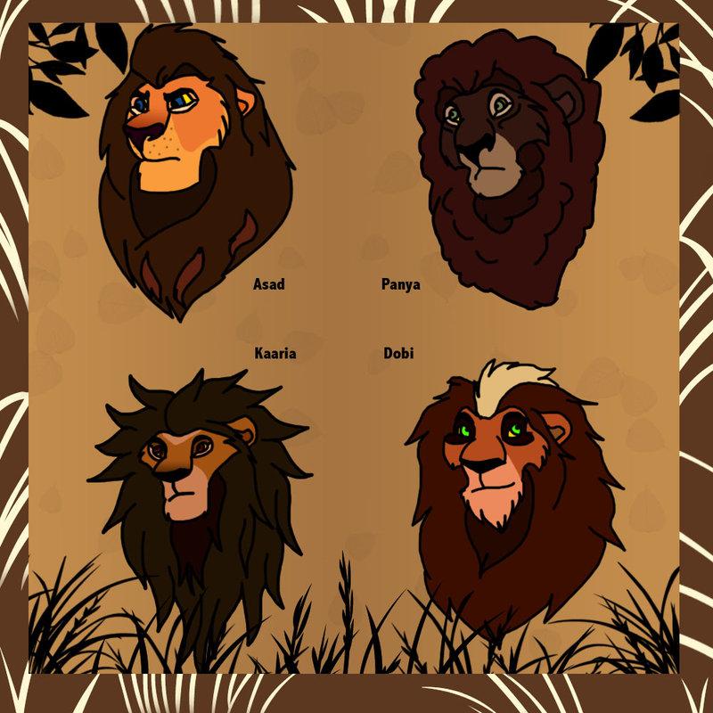 Mufasa clipart lion pride #3