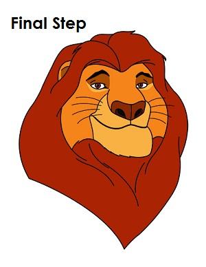 Mufasa clipart main character #2