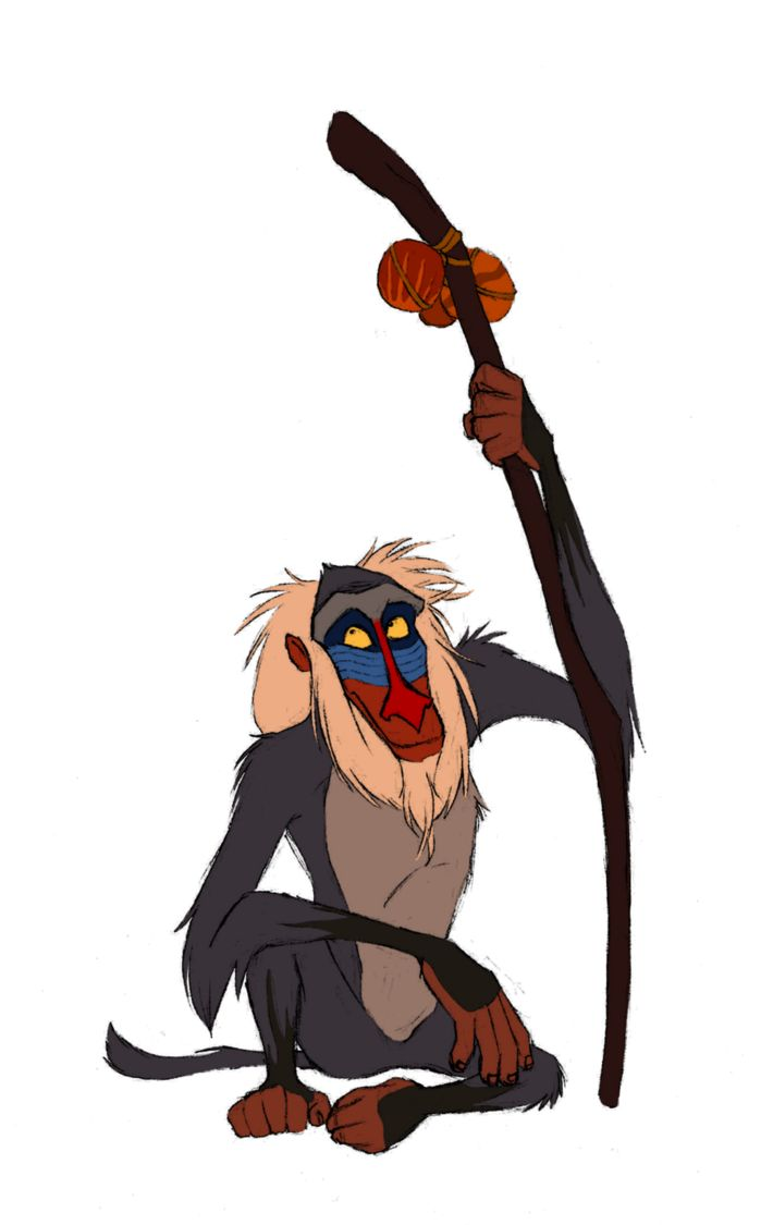Baboon clipart disney On Lion King images best