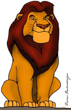 Mufasa clipart real life Lion by Teen/Adult King if