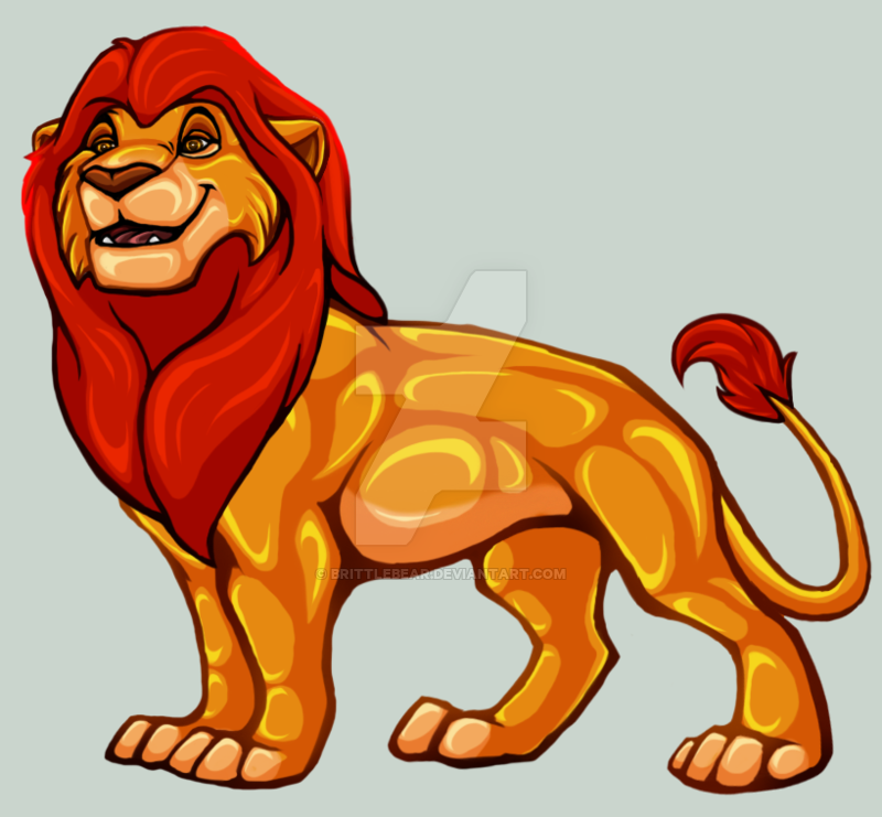 Mufasa Brittlebear by on DeviantArt