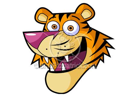 Tiger clipart cartoon #5