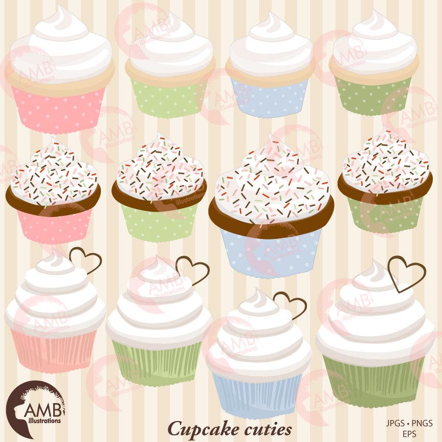 Vanilla Cupcake clipart bake sale Clipart Cupcake Clipart  Bake