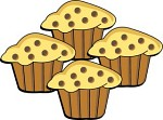 Muffin clipart banana muffin Kb Size: Vector collection clipart