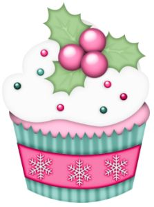 Muffin clipart christmas Best images on Pinterest