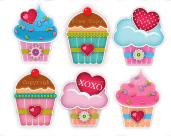 Muffin clipart cute cake With images Digital digital with