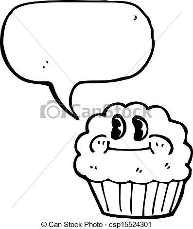 Muffin clipart fresh Muffin Art Clip Vector of