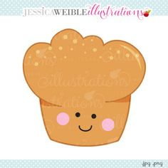 Muffin clipart face Cute Earth Illustrations collections Earth