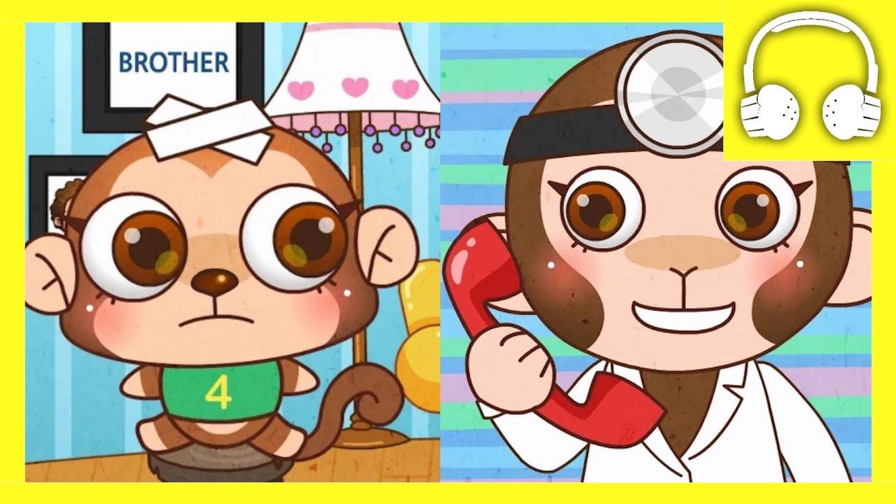 Muffin clipart five Muffin Little Songs Monkeys Little