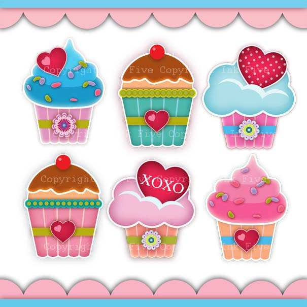 Muffin clipart five Clipart Clip  for items