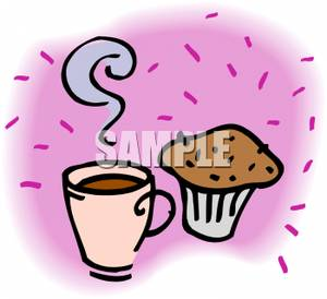 Muffin clipart hot Cup of and Steaming a