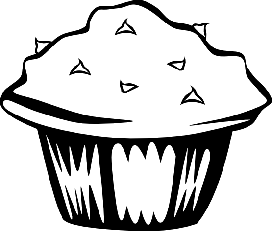 Muffin clipart junk food Free Clipart Black Junk food%20clipart%20black%20and%20white