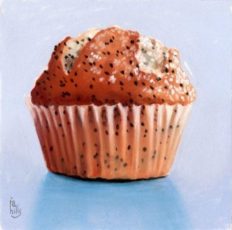 Muffin clipart lemon poppy seed Painting muffin Pinterest Ria artist