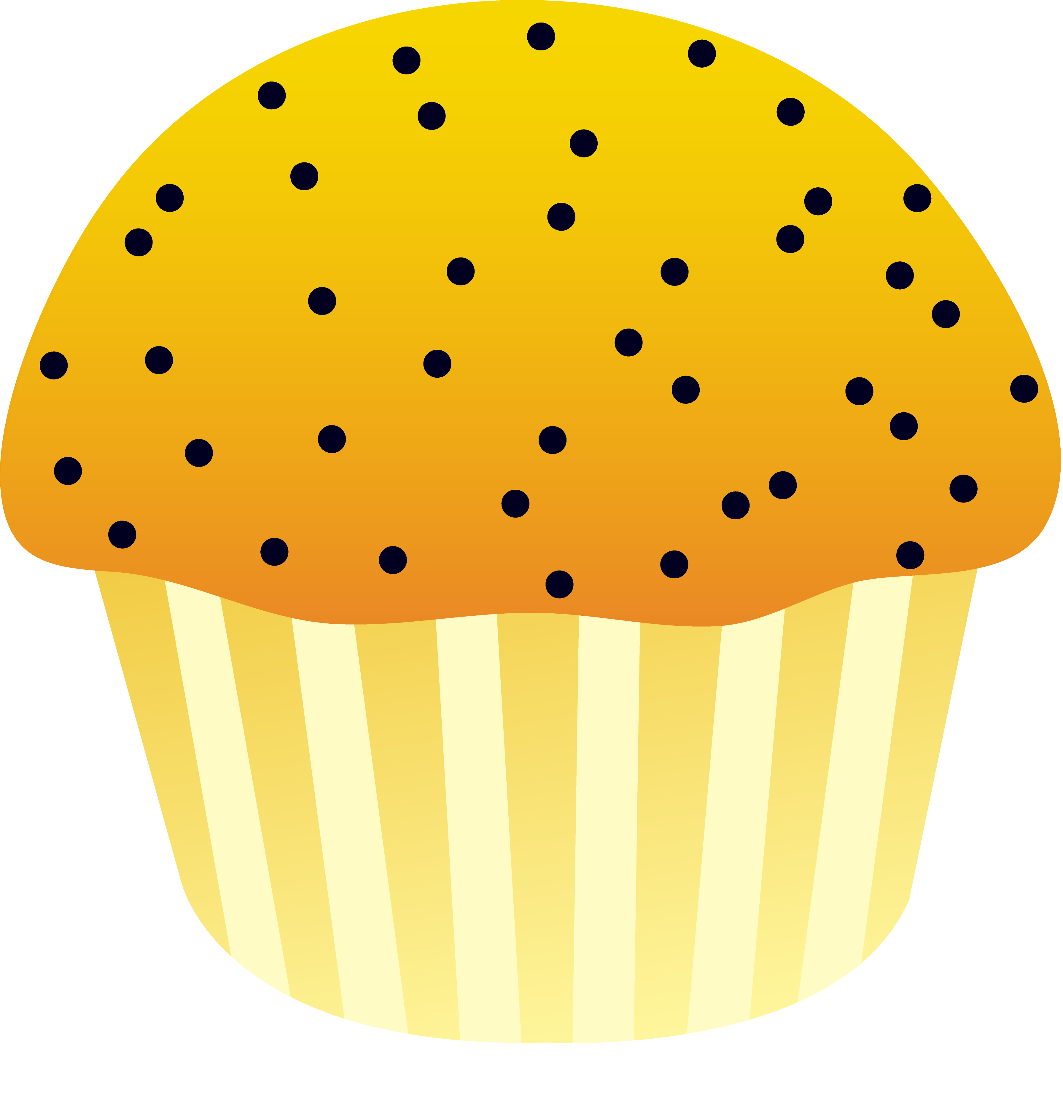 Muffin clipart lemon poppy seed Poppy Lemon Free Muffin Lemon