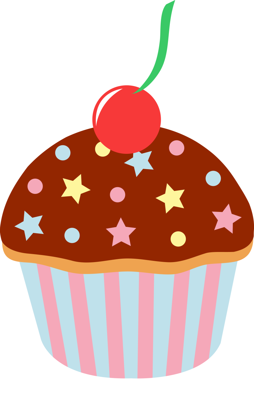 Muffin clipart orange cupcake Cartoon Clipartion Best Cupcake Images