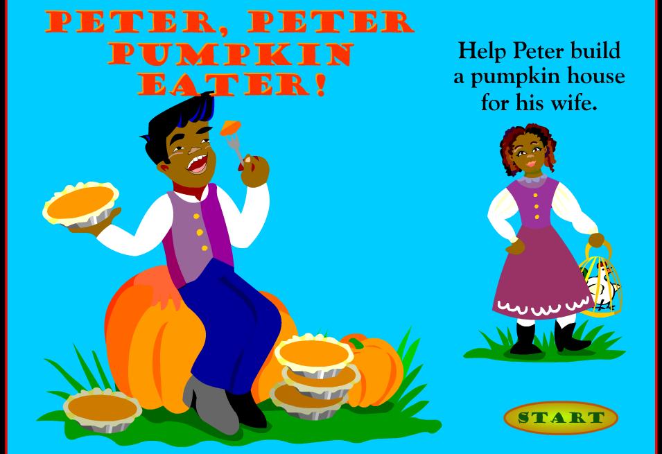 Muffin clipart peter peter pumpkin eater More! Coach: Halloween Games Peter