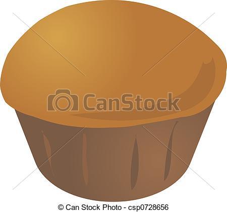 Muffin clipart plain Stock cupcake muffin Cupcake Illustration
