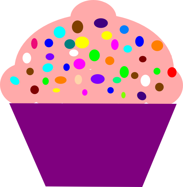 Muffin clipart purple Com Clip Download this vector