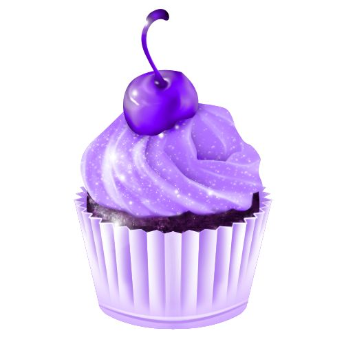 Muffin clipart purple On CUPCAKE 92 best Cupcake