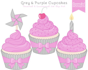Muffin clipart purple & Clip 50% OFF Commercial