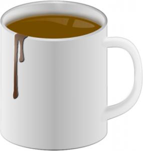 Mug clipart Coffee Mug Dripping Art Coffee