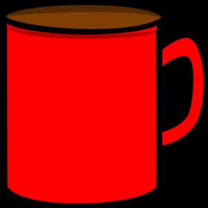 Mug clipart Clker clip at Art vector