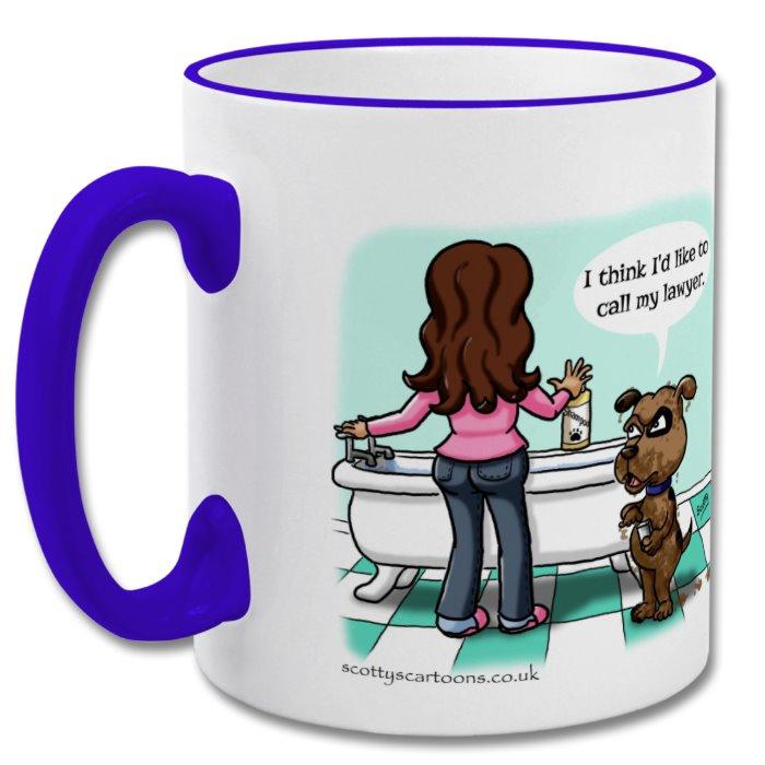 Mug clipart bath Marketplace safe Scotty's colour 8cm