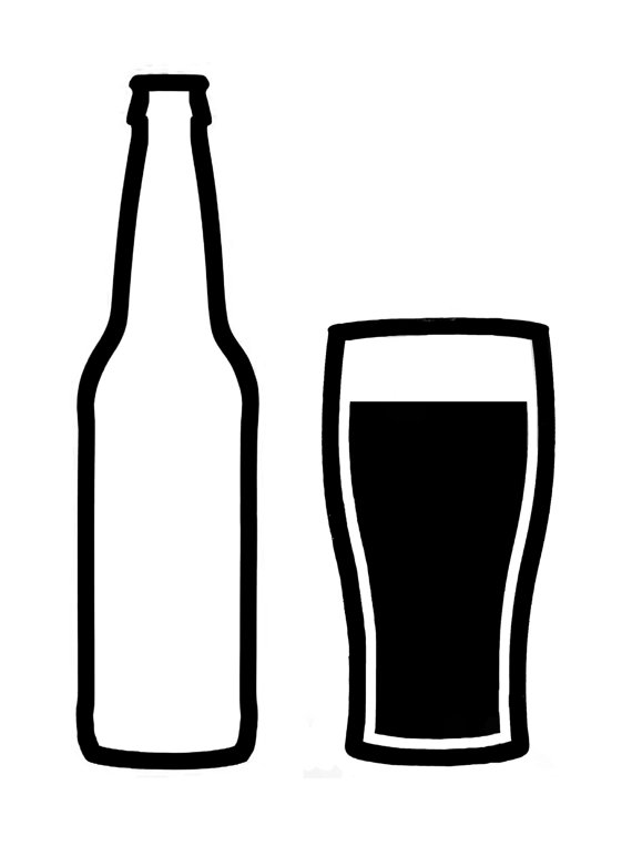 Beer clipart black and white Clipart art clip art Cliparts