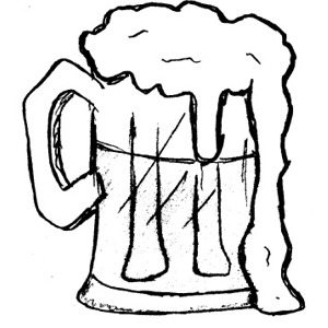 Beer clipart black and white Images clipart collection mug beer