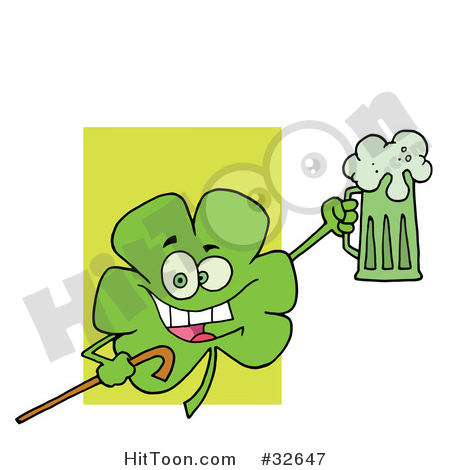 Mug clipart cheer A Leaf with Green Beer
